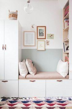 Best ikea storage hacks bedroom built ins ideas Ikea Nursery, Ikea Bedroom, Bedroom Decor, Bedroom Ideas, Bedroom Hacks, Ikea Hacks, Ikea Wardrobe Hack, Girls Bedroom Storage, Child Room