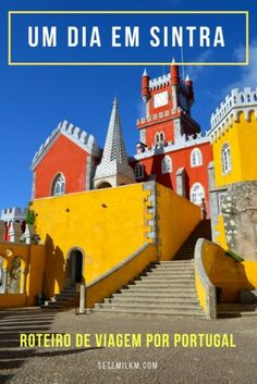 Um dia em Sintra, Portugal