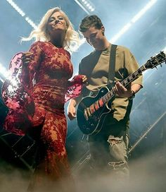 Martin Garrix and Bebe Rexha at the EMAs performing In The Name Of Love ➕✖