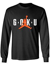 "Super Saiyan Son Goku ""Air Goku"" Dragon Ball Z Mens Long Sleeve T-Shirt"