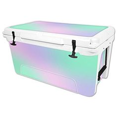 MightySkins Protective Vinyl Skin Decal for RTIC 65 qt Cooler wrap cover sticker skins Cotton Candy ** Check this awesome product by going to the link at the image.