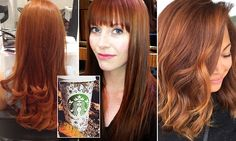 Pumpkin spice hair is taking over salons