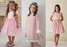 Resultado de imagen para vestidos blancos sencillos para niñas