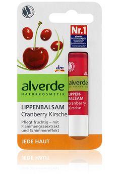 alverde Lippenbalsam  Cranberry Kirsche = 1.15€
