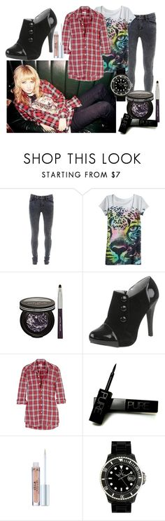 """""""Ladyhawke"""" by juls ❤ liked on Polyvore featuring INDIE HAIR, Laura Geller, Steven Alan, Debenhams, Stila and Toy Watch"""