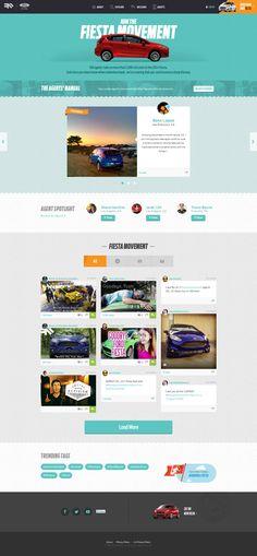 Ford Fiesta, generating interest, advertising, hype, responsive, video, social, microsite