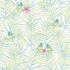 Rasch Paradise Palm Leaf Pattern Tropical Bird Motif Metallic Wallpaper (White Green 208801) Rasch http://www.amazon.co.uk/dp/B013GIS0I6/ref=cm_sw_r_pi_dp_WDW0wb18CEVHC