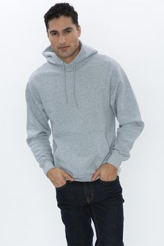 his ATC Everyday Fleece Hooded Sweatshirt is one of the most affordable sweatshirts you'll find. It's and made with a cotton/polyester fleece blend. It's got compacted yarns to minimize shrinkage, and a double lined hood with a drawstring. T Shirt Company, Atc, Yarns, Hooded Sweatshirts, Hoods, Colours, Store, Stylish, Sweaters