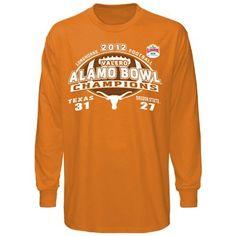 Texas Longhorns 2012 Alamo Bowl Champions Long Sleeve T-Shirt!