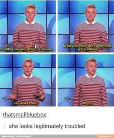 I feel u Ellen