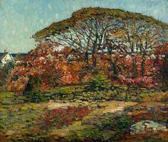 Charles Salis Kaelin (1858-1929)  Autumn, 1920s  Oil on canvas, 25 x 30 inches