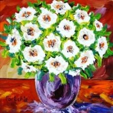 Portchie - Alice Art Gallery - White Flowers