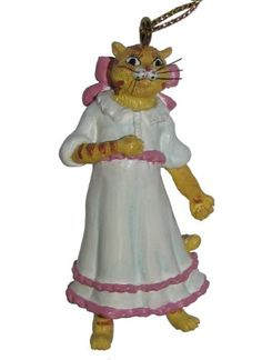 """Ertl Collectibles Cat Hall of Fame the Nutcracker Ballet Merwia Christmas Hanging Ornament 2.75"""" -- You can get more details by clicking on the image."""
