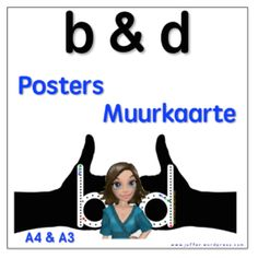 b & d posters/muurkaarte - Teacha! Speech Language Pathology, Speech And Language, Class Decoration, A3, Classroom Ideas, Worksheets, Foundation, Posters, Languages