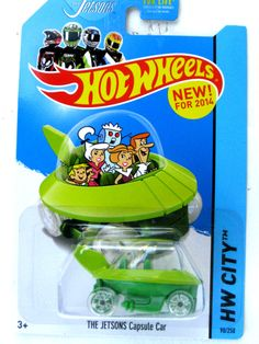 Hot Wheels 2014  THE JETSONS CAPSULE CAR
