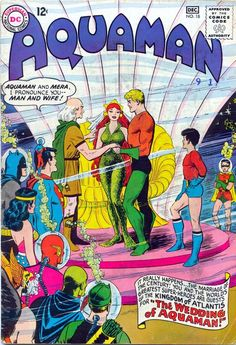 Aquaman n°18, December 1964, cover by Nick Cardy.