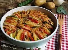 verdure gratinate -