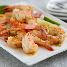 Pineapple Shrimp: Try these tropical-infused appetizers for your next party! They're sure to be a crowd-pleaser. Seafood Recipes, Diet Recipes, Cooking Recipes, Healthy Recipes, Healthy Foods, Seafood Dishes, Recipies, Healthy Eating, Diet Food List