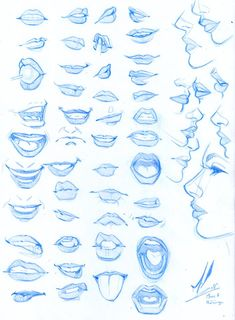 Comic Anatomy 45 Ideas For 2019 - Cool Anime Pictures - . - Makaron Draw Faces Comic Anatomy 45 Ideas For 2019 - Cool Anime Pictures - . - Makaron Draw Faces Comic Anatomy 45 Ideas For 2019 - Cool Anime Pictures - . Pencil Art Drawings, Art Drawings Sketches, Sketch Art, Face Drawings, Drawings Of Mouths, Face Pencil Drawing, Drawing Techniques Pencil, Drawing Cartoon Faces, Charcoal Drawings
