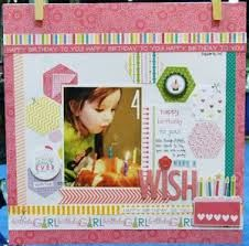 Image result for scrapbook birthdays