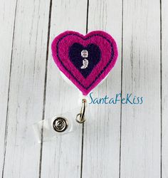 Suicide Awareness Felt Badge Holder with Retractable Badge Reel. A great ID Badge Holder for yourself or for a special gift - pinned by pin4etsy.com