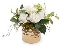 John Richard White Diamonds Floral Arrangement in Vase