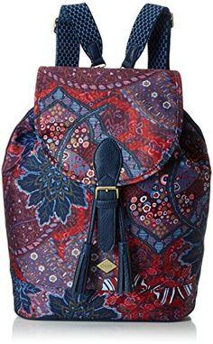 #Oilily #Damen #Rucksackhandtaschen, #Blau #(Dark #Blue #555), 28x16x38 cm…