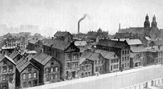 Polish tenements, Chicago, 1890s.  Gives an idea of what the Irish section of Chicago may have looked like during the World's Fair.