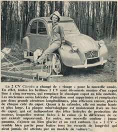 "Quand le ""Journal de Tintin "" enterrait la 2cv CO - 2 CV à capots ondulés"