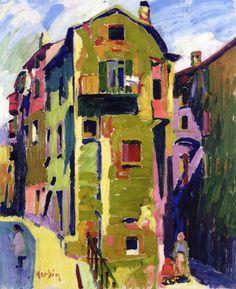 The Place Maubert. Auguste Herbin - 1907