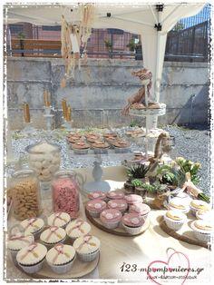 ΣΤΟΛΙΣΜΟΣ ΓΑΜΟΥ ΚΑΙ ΒΑΠΤΙΣΗΣ ΜΑΖΙ - BOHO ΟΝΕΙΡΟΠΑΓΙΔΑ - ΚΩΔ:BOHO-1333 Boho, Diy Wedding, Table Decorations, Bohemian, Dinner Table Decorations