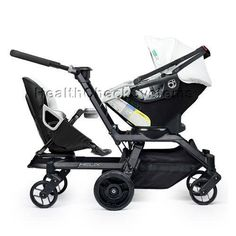 Standard Baby Strollers - Pin it :-) Follow us .. CLICK IMAGE TWICE for our BEST PRICING ... SEE A LARGER SELECTION of   standard  baby strollers at    http://zbabybaby.com/category/baby-categories/baby-strollers/standard-baby-stroller/ - gift ideas, baby , baby shower gift ideas, kids  -   Orbit Baby Helix G2 Double Stroller with Infant Car Seat in Black Slate « zBabyBaby.com