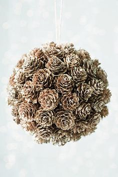 mini pine cone christmas ornaments  | Pine cone decoration, christmas, christmas decoration, pine cone ...