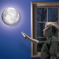 product image for Remote Control Healing Moon Lamp