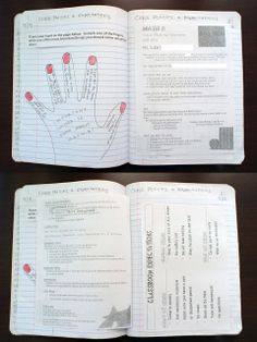 Hand-5 important things about this class after reading/discussing syllabus.  Introduce input on right pages and output on left pages