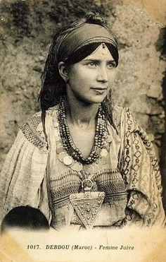 Marocco jewish woman