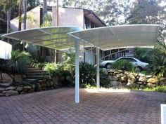 Check out our shade cover & carport installation services. Garden Buildings, Carport Designs, Shades, Pool Shade, Outdoor Decor, Shade Cover, Home Additions, Aluminum Patio Awnings
