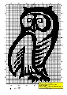 Owls on Pinterest Cross Stitch Owl, Owl Patterns and Crochet Owls
