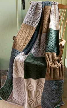 VINTAGE AFGHAN BLOCK OF THE MONTH CLUB...purchase pattern