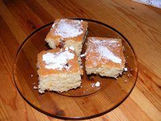 Narancsos grízes sütemény