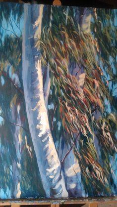 Eucaliptus. Acrílico by Pepa Polo.  Cañada Sancha Brava