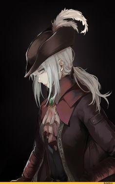 Lady Maria, BB Characters, BloodBorne, Dark Souls, fandoms, BB art, Game art, game art, Games