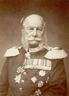 Wilhelm I, born March 22, 1797,also known as Wilhelm the Great  of the House of Hohenzollern was the King of Prussia (1861–1888) and the first German Emperor (1871–1888). Under the leadership of Wilhelm and his prime minister Otto von Bismarck, Prussia achieved the unification of Germany and the establishment of the German Empire.