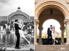 Diana & Kyle - Striking Balboa Park Engagement Photos #weddingphotography / follow @TruePhotography