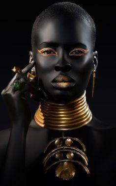 """Black is Beautiful: """"Black Girls Killing it"""" Ñuul Kukk! These images debunk stereotypes about black people especially women, they give us a glimpse into the deep beautiful bones of women of African descent, African women, blacks across the globe ( Pan-A… African Beauty, African Women, African Models, African Style, African Life, African History, Black Is Beautiful, Beautiful People, Beautiful Eyes"""