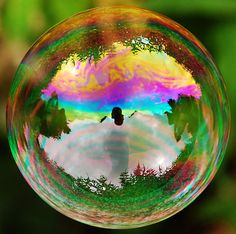 Leafy Bubble - © Richard Heeks via RedBubble
