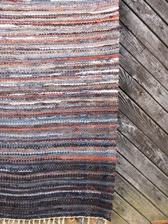 Handwoven rag rug  354' x 715'Grey rock'' by Gunaspalete on Etsy