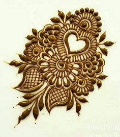 Rajasthani Flower Mehndi Designs For Hands Step By Step. rajhastani mehndi designs are very fa.