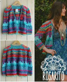 Crochet Jacket, Crochet Cardigan, Knit Or Crochet, Crochet Motif, Crochet Designs, Knitting Patterns, Crochet Patterns, Summer Sweaters, Sweaters For Women