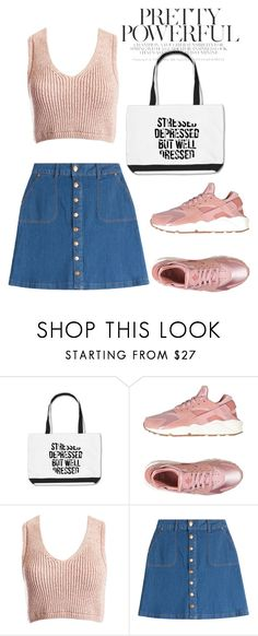 """Без названия #58"" by varvara-muras on Polyvore featuring мода, NIKE, Sans Souci и HUGO"